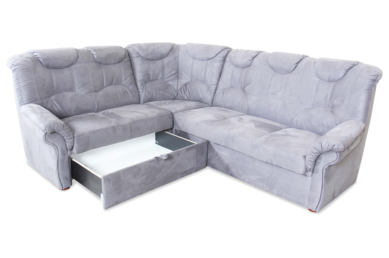 Matex Rundecke Linus Anthrazit Mit Federkern Sofa Couch Ecksofa Ebay