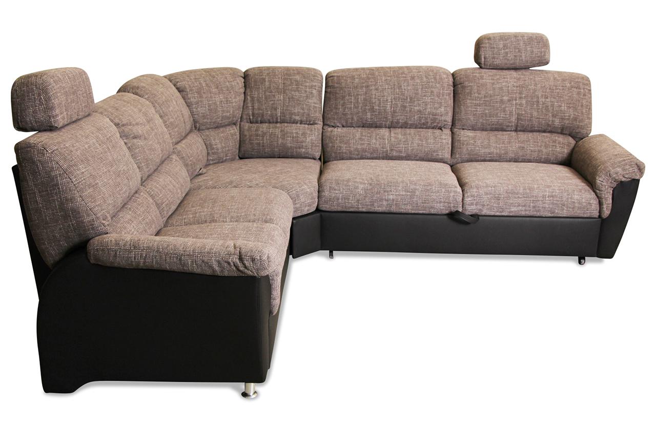 matex rundecke ibiza mit schlaffunktion grau sofa couch ecksofa ebay. Black Bedroom Furniture Sets. Home Design Ideas