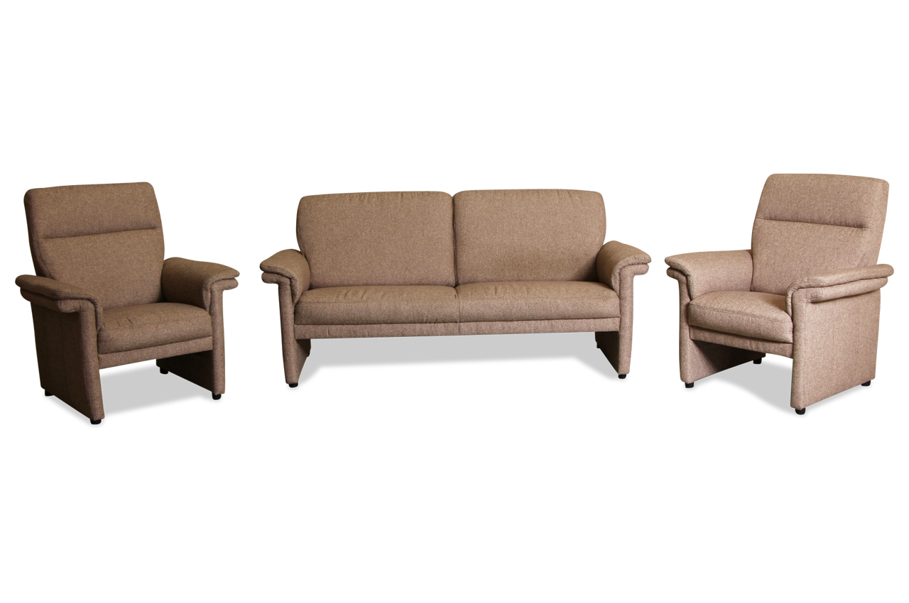 garnitur 3 1 1 creme sofas zum halben preis. Black Bedroom Furniture Sets. Home Design Ideas