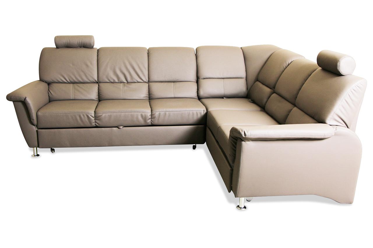 rundecke pisa mit schlaffunktion blau sofa couch ecksofa ebay. Black Bedroom Furniture Sets. Home Design Ideas