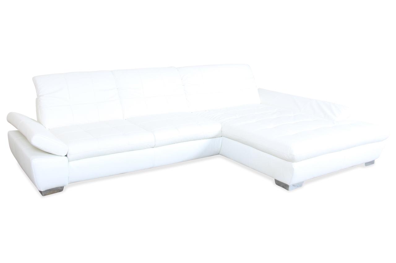 leder ecksofa weiss mit federkern sofas zum halben preis. Black Bedroom Furniture Sets. Home Design Ideas
