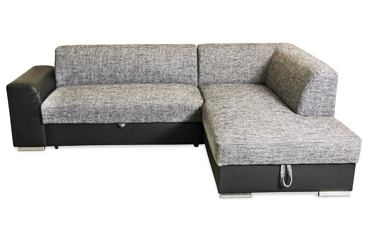 ecksofa xl raven mit schlaffunktion anthrazit sofa couch ecksofa. Black Bedroom Furniture Sets. Home Design Ideas