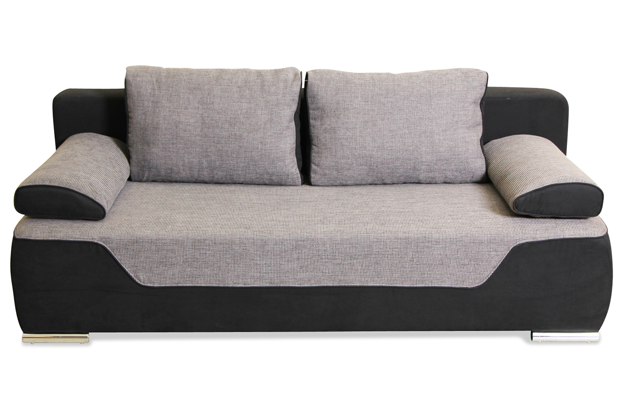 blackredwhite 3er sofa lana mit schlaffunktion. Black Bedroom Furniture Sets. Home Design Ideas