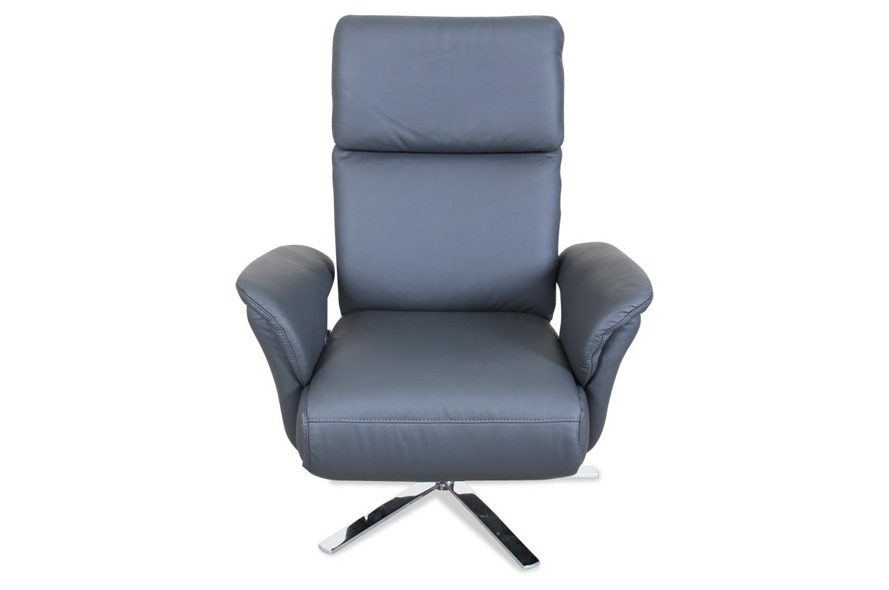 leder fernsehsessel mit relax grau sofa couch. Black Bedroom Furniture Sets. Home Design Ideas