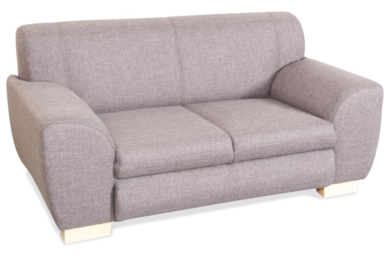 2er sofa teri braun mit federkern sofas zum halben preis. Black Bedroom Furniture Sets. Home Design Ideas
