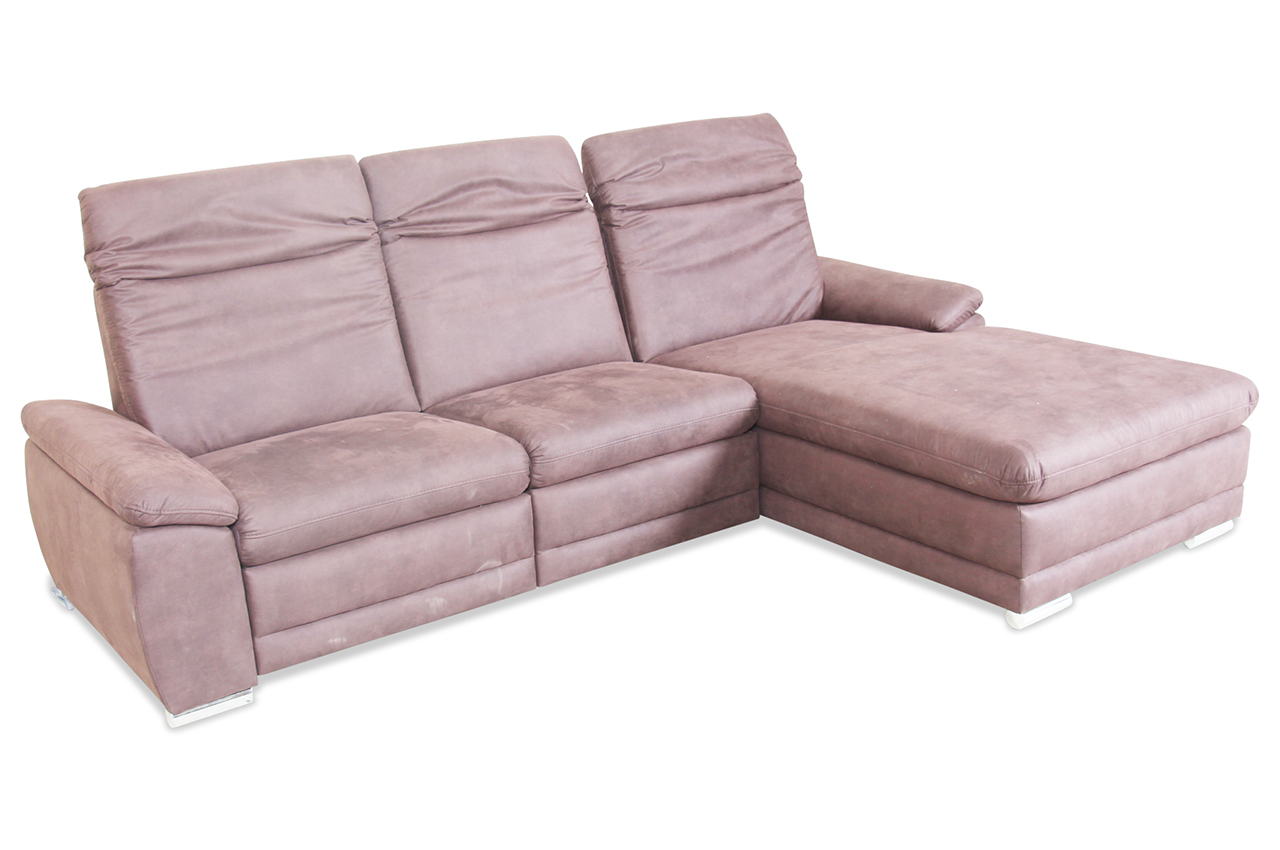 ecksofa monsun braun mit federkern sofa couch ecksofa. Black Bedroom Furniture Sets. Home Design Ideas