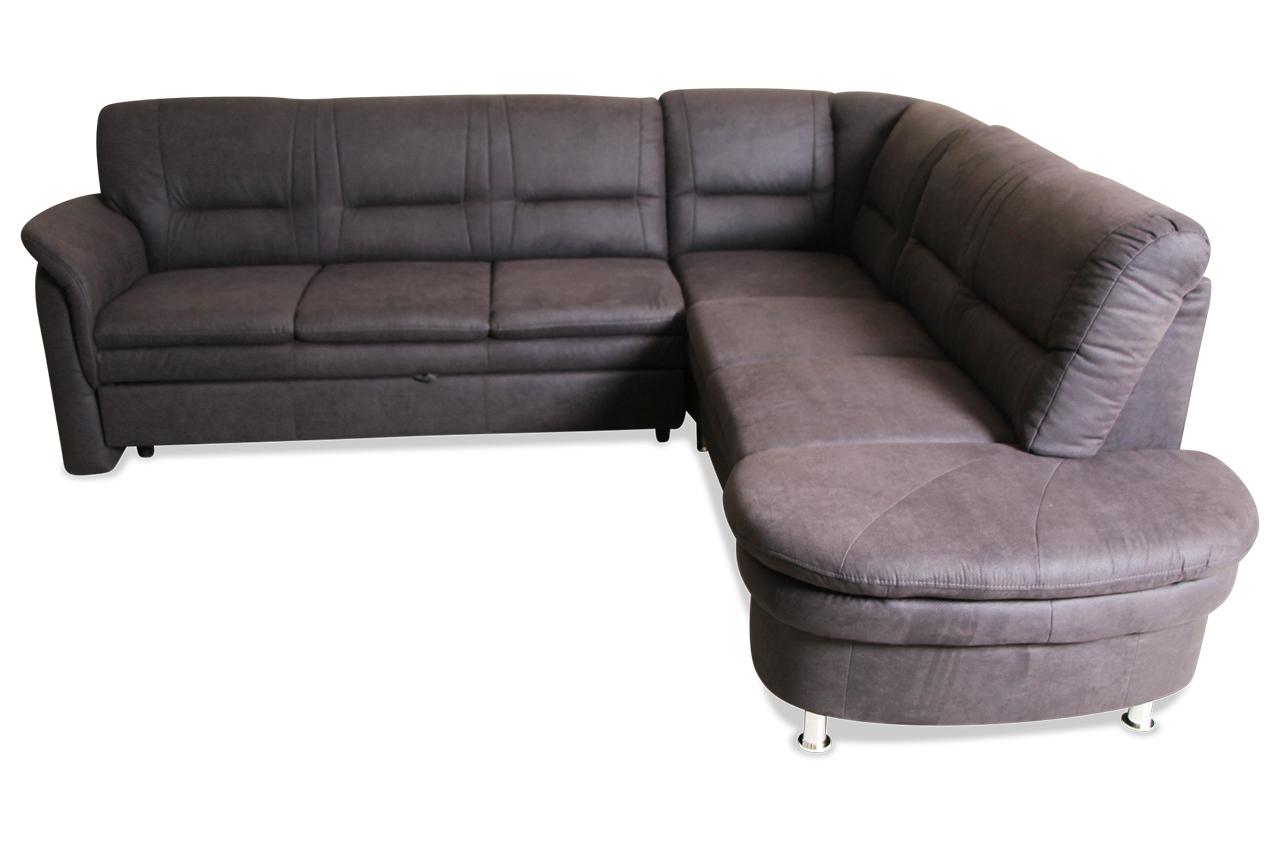 rundecke mit schlaffunktion schwarz mit federkern sofas zum halben preis. Black Bedroom Furniture Sets. Home Design Ideas