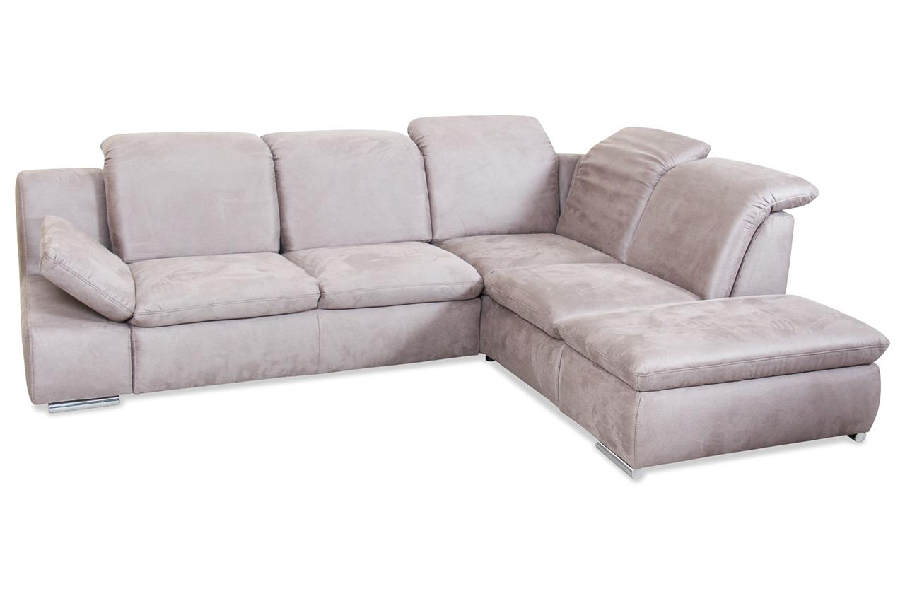 ecksofa xl braun mit federkern sofa couch ecksofa ebay. Black Bedroom Furniture Sets. Home Design Ideas