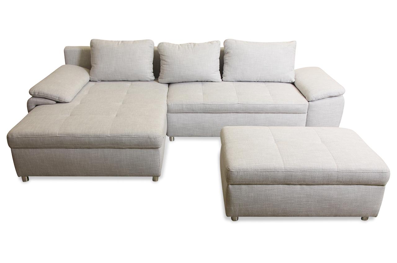 ecksofa grau sofas zum halben preis. Black Bedroom Furniture Sets. Home Design Ideas