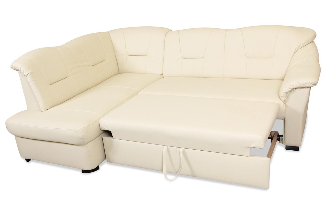 cotta ecksofa xl bolzano mit schlaffunktion creme sofa couch ecksofa ebay. Black Bedroom Furniture Sets. Home Design Ideas