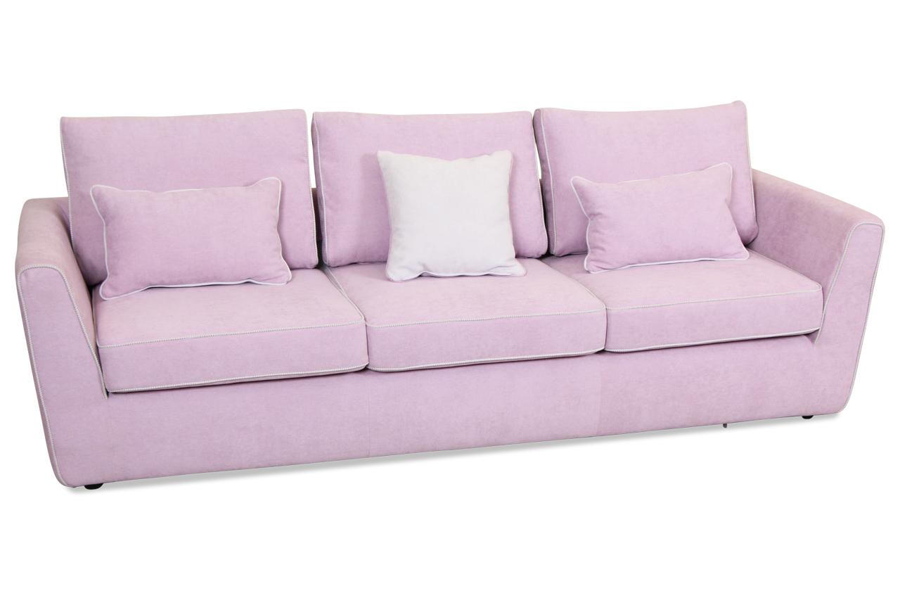 insofa 3er sofa lola pink sofas zum halben preis. Black Bedroom Furniture Sets. Home Design Ideas