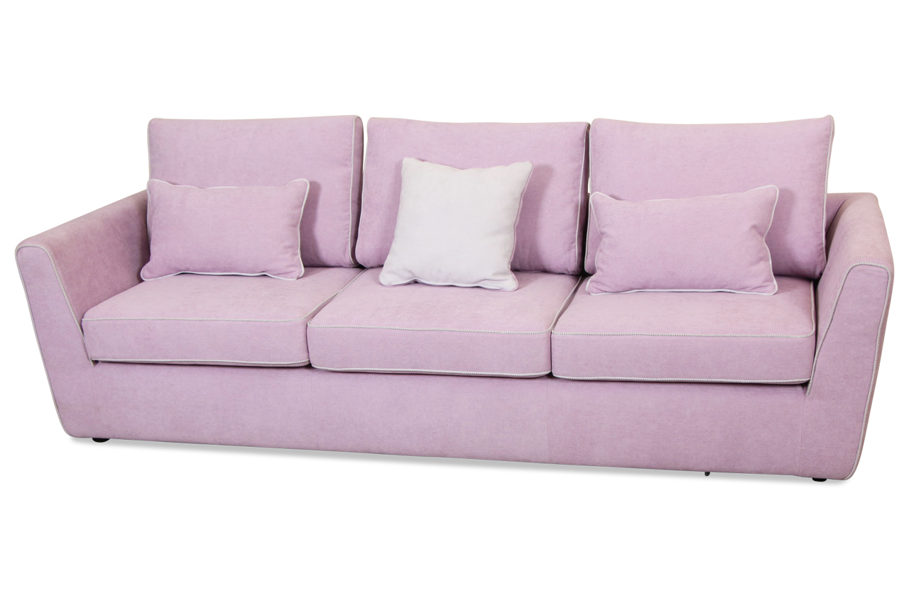 insofa 3er sofa lola pink sofas zum halben preis. Black Bedroom Furniture Sets. Home Design Ideas