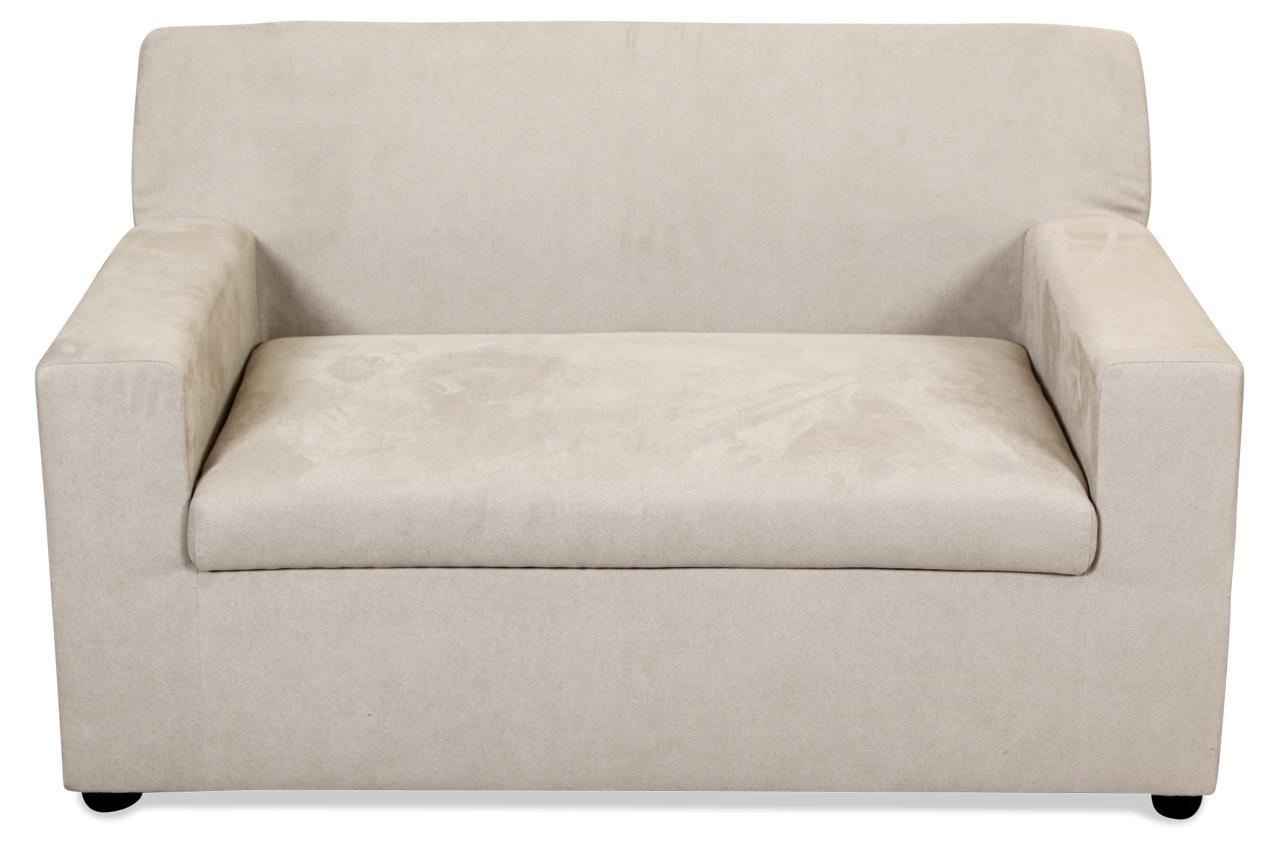 insofa 2er sofa fernando grau sofas zum halben preis. Black Bedroom Furniture Sets. Home Design Ideas