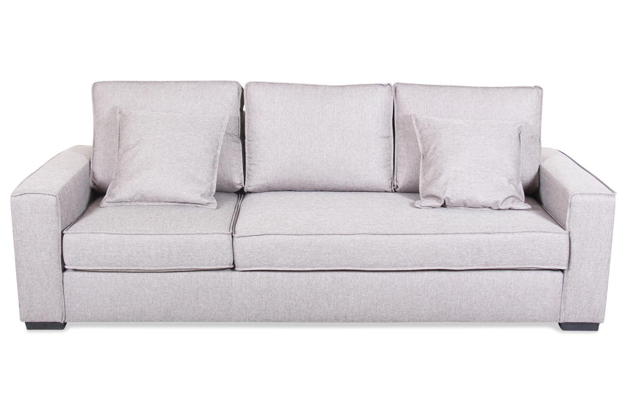 insofa 3er sofa flash mit sitzverstellung braun mit federkern sofa couch ebay. Black Bedroom Furniture Sets. Home Design Ideas