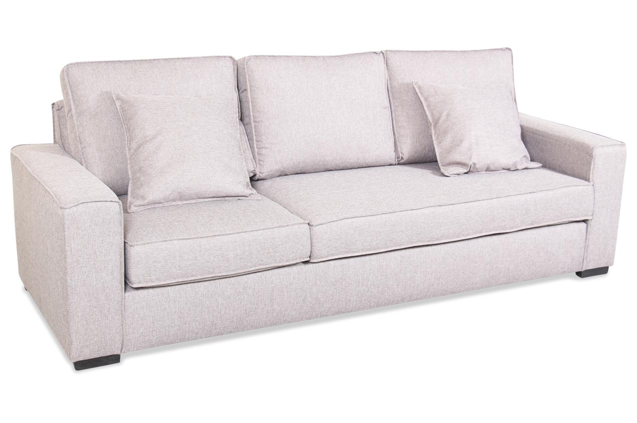 insofa 3er sofa flash mit sitzverstellung braun mit federkern sofas zum halben preis. Black Bedroom Furniture Sets. Home Design Ideas