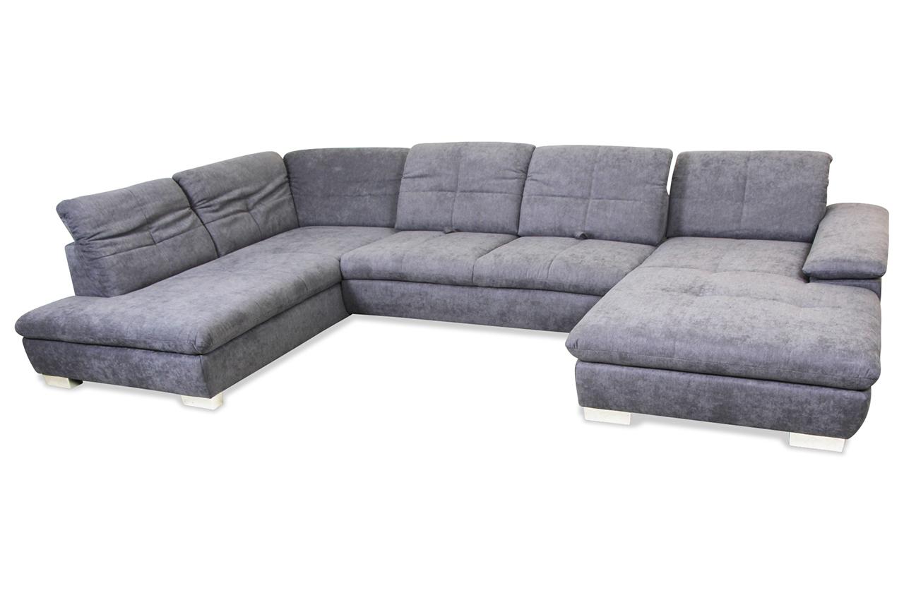 ada alina wohnlandschaft 7520 creme sofa couch ecksofa