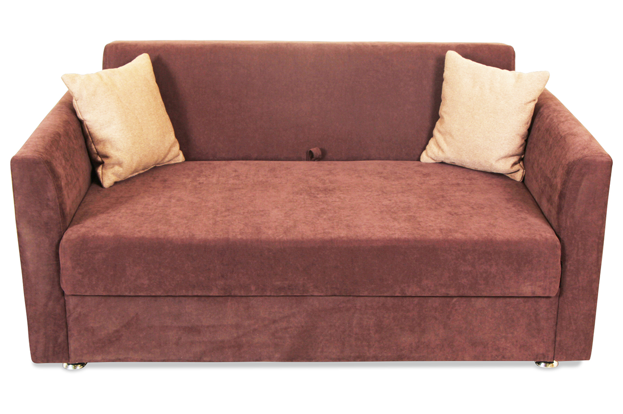 2er Sofa Elzbieta Gnacy Mit Schlaffunktion Braun Sofa Couch Ecksofa