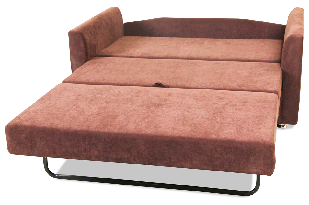 2er sofa elzbieta gnacy mit schlaffunktion braun. Black Bedroom Furniture Sets. Home Design Ideas