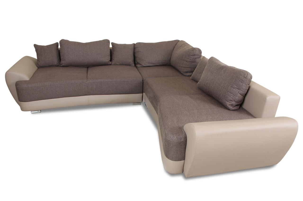 Sofa Team Rundecke Weber Mit Schlaffunktion Grau Sofa Couch Ecksofa Ebay