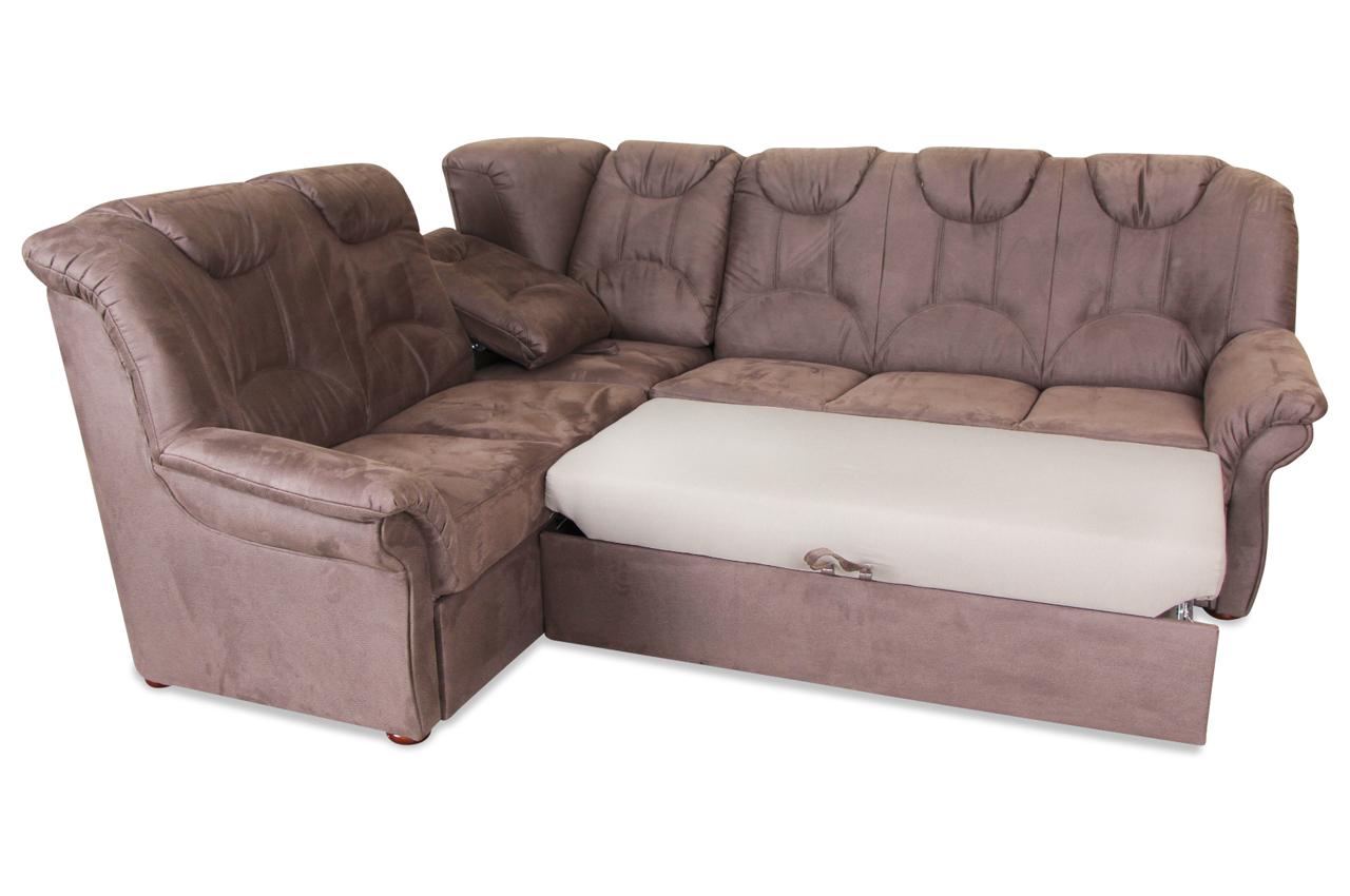 rundecke linus mit relax und schlaffunktion braun sofas zum halben preis. Black Bedroom Furniture Sets. Home Design Ideas