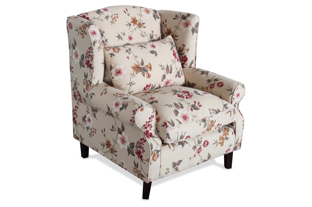 eurotrading ohrenbackensessel sofia bunt sofas zum. Black Bedroom Furniture Sets. Home Design Ideas
