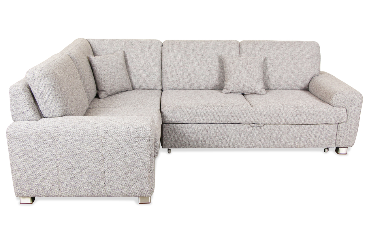matex rundecke plaza mit schlaffunktion grau sofa couch ecksofa ebay. Black Bedroom Furniture Sets. Home Design Ideas
