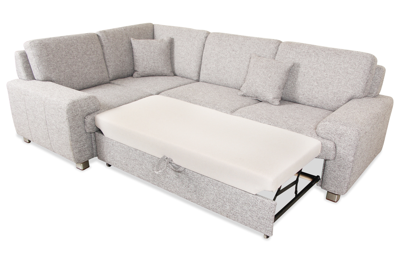 matex rundecke plaza mit schlaffunktion grau sofa couch ecksofa ebay. Black Bedroom Furniture Sets. Home Design Ideas