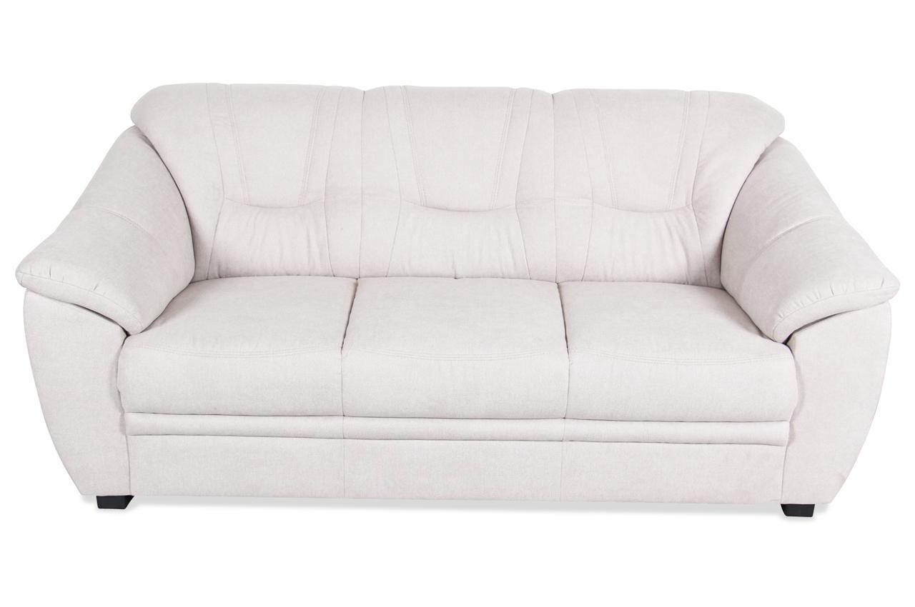 3er sofa creme sofas zum halben preis. Black Bedroom Furniture Sets. Home Design Ideas