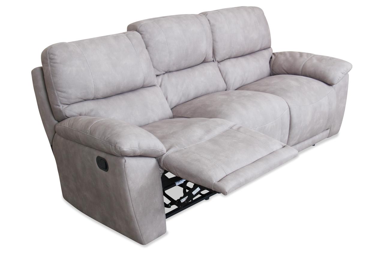 editions 3er sofa u181 mit sitzverstellung braun mit federkern sofas zum halben preis. Black Bedroom Furniture Sets. Home Design Ideas