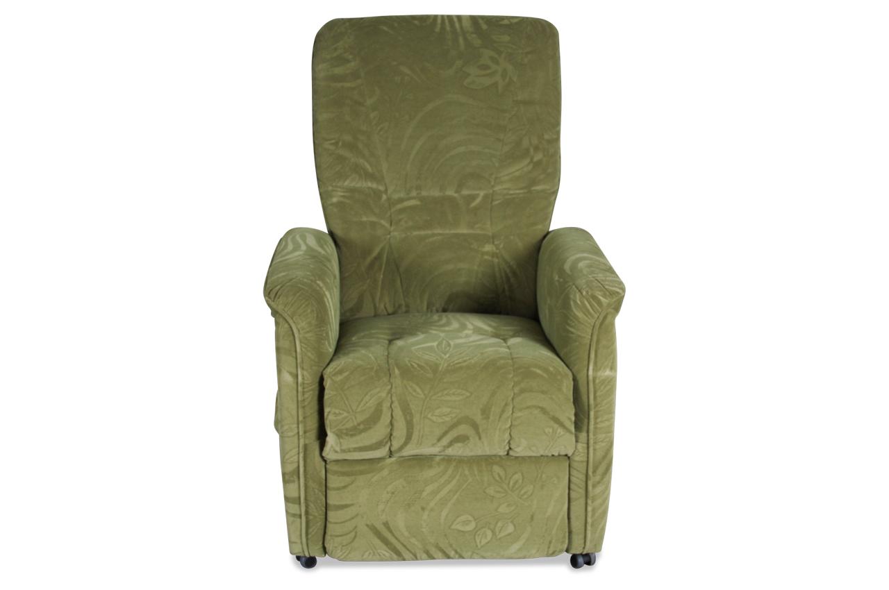 bader Fernsehsessel Harry - mit Relax - Gruen  Sofas zum halben Preis