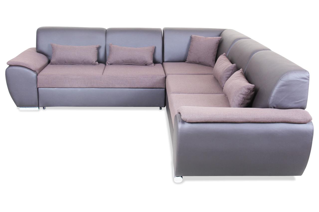 blackredwhite rundecke antara mit schlaffunktion braun sofas zum halben preis. Black Bedroom Furniture Sets. Home Design Ideas