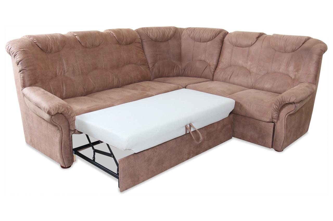 rundecke linus mit schlaffunktion braun sofas zum halben preis. Black Bedroom Furniture Sets. Home Design Ideas