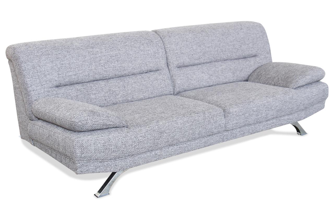 3er sofa bruno grau sofa couch ecksofa ebay. Black Bedroom Furniture Sets. Home Design Ideas