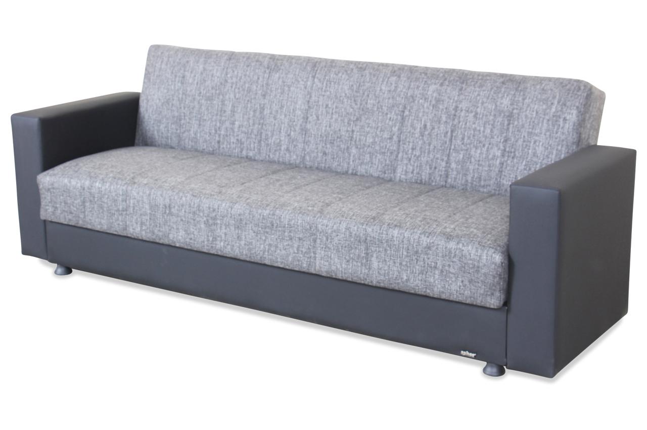 Seher 3er Sofa Nadine Mit Schlaffunktion Schwarz Sofa Couch Ecksofa Ebay