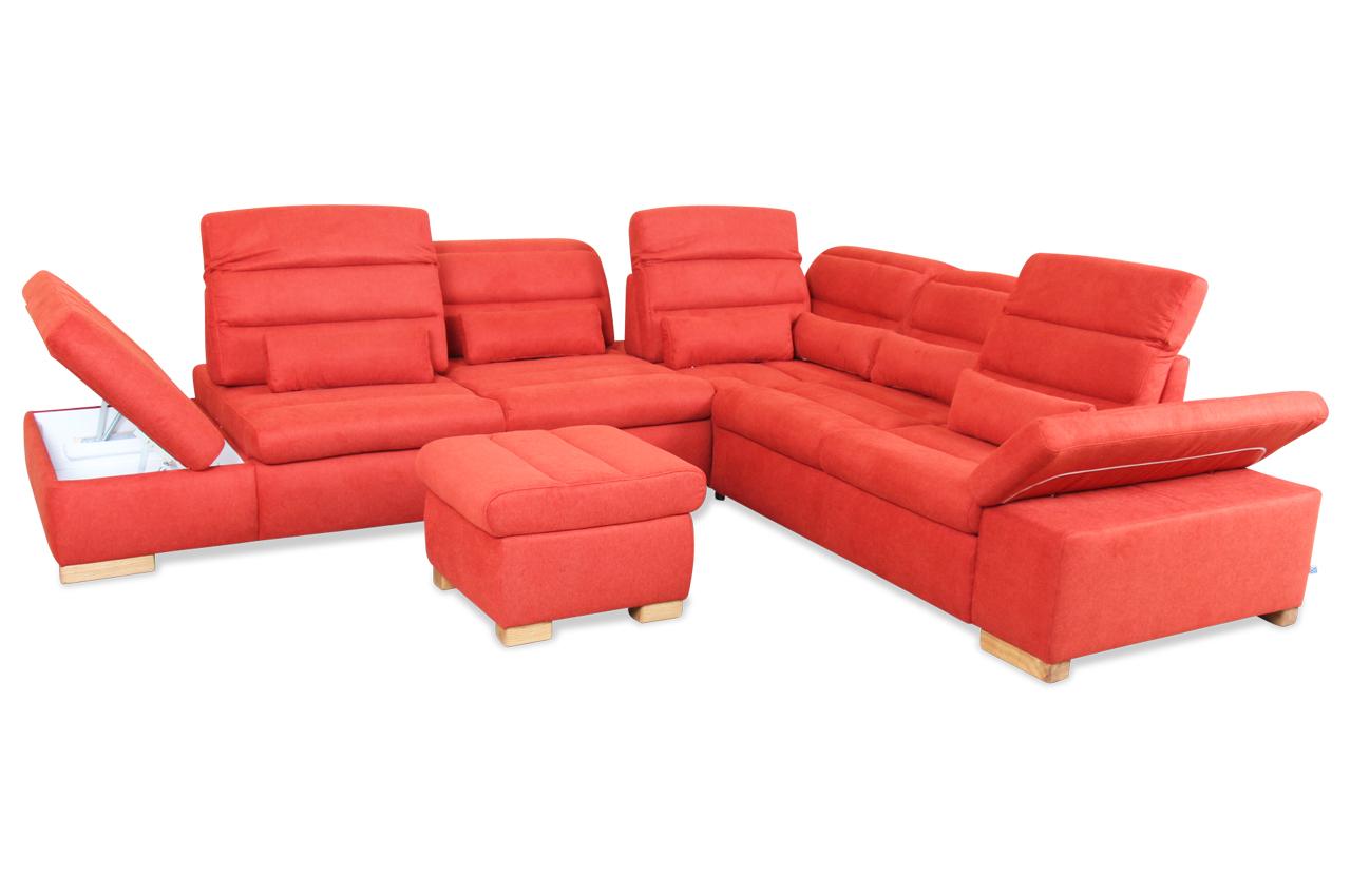 rundecke mit schlaffunktion orange sofas zum halben preis. Black Bedroom Furniture Sets. Home Design Ideas