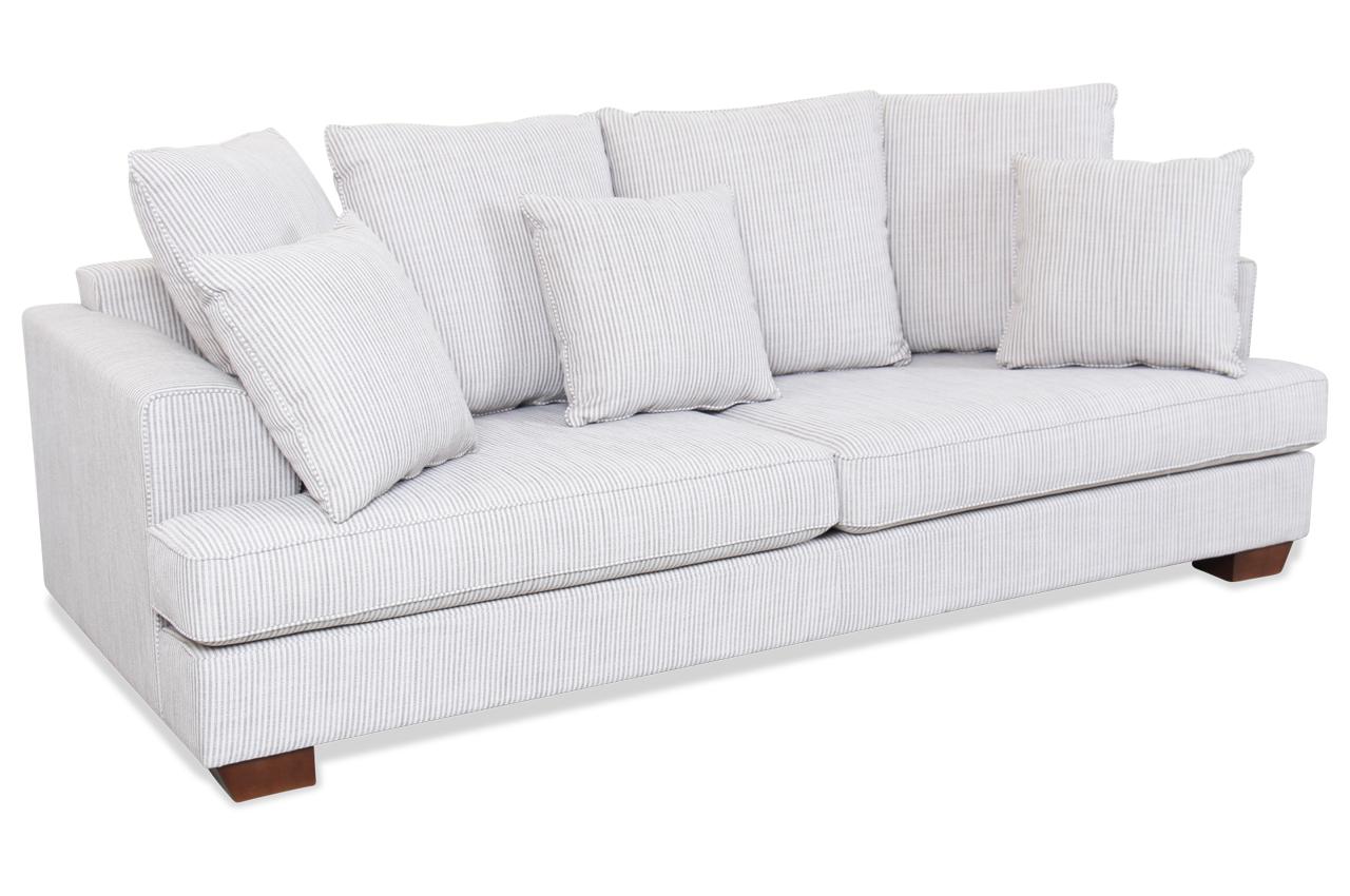 furninova 2er sofa franklin weiss sofas zum halben preis. Black Bedroom Furniture Sets. Home Design Ideas
