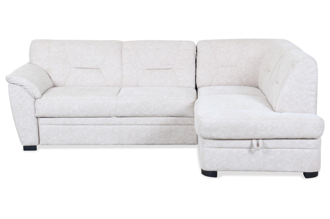Cotta ecksofa xl milo mit schlaffunktion creme sofa for Ecksofa ebay