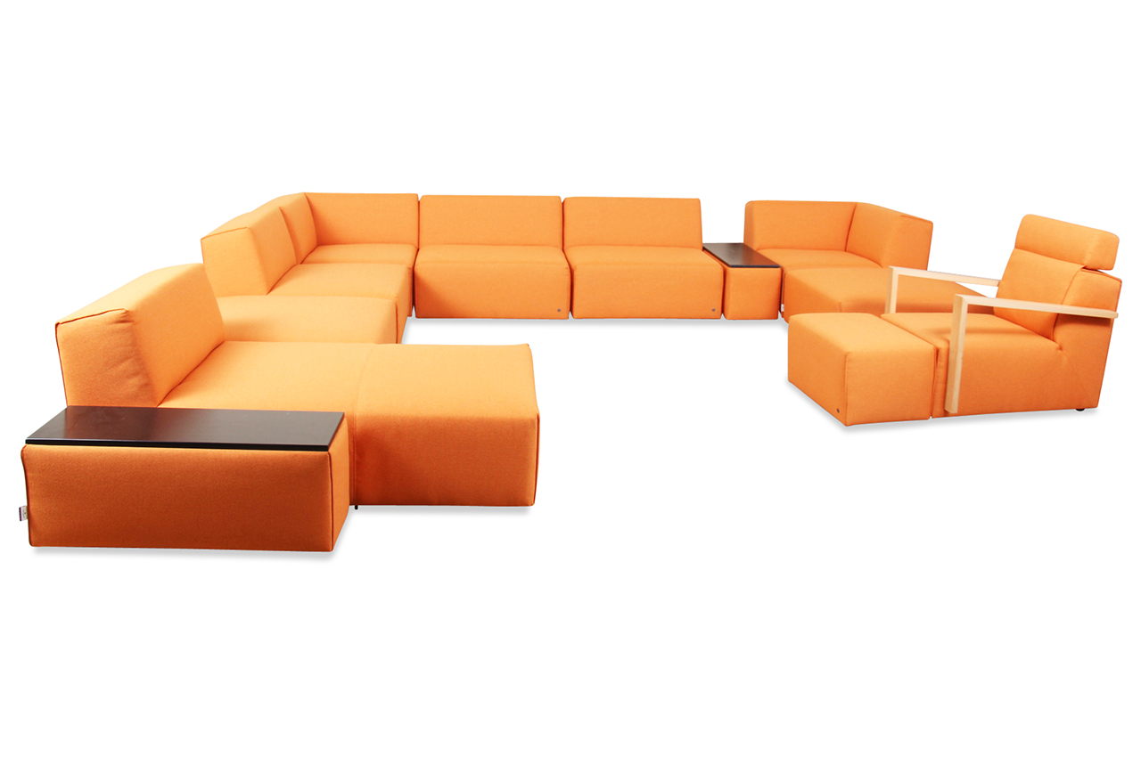 Tom Tailor Wohnlandschaft Elements Wls Gr Orange Sofas Zum