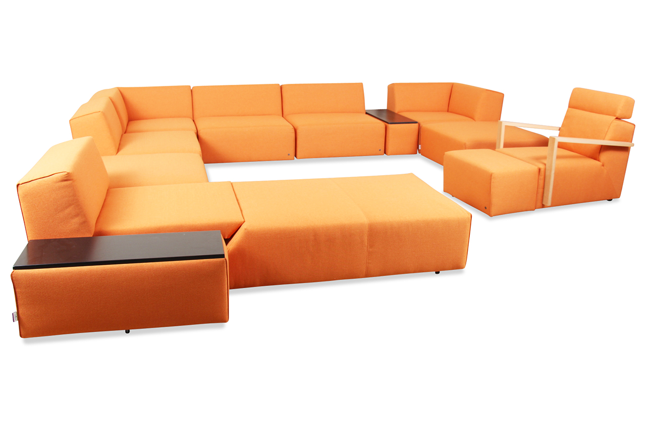 tom tailor wohnlandschaft elements wls gr mit schlaffunktion orange sofas zum halben preis. Black Bedroom Furniture Sets. Home Design Ideas
