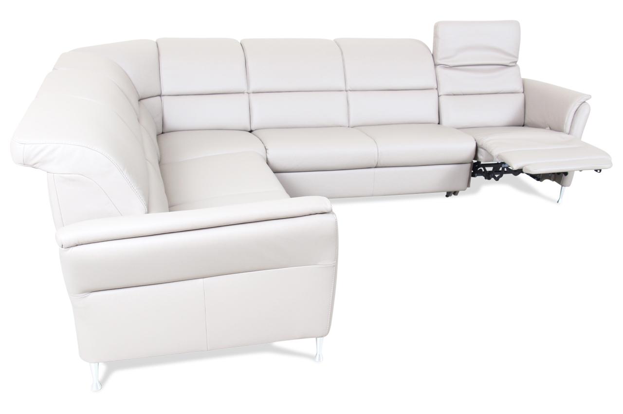 Leder Rundecke Braun Sofa Couch Ecksofa Ebay