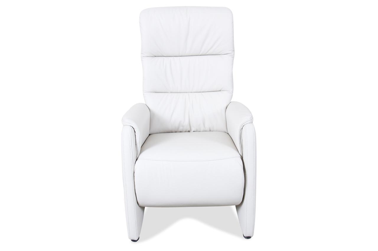 leder fernsehsessel mit relax weiss mit federkern sofas zum halben preis. Black Bedroom Furniture Sets. Home Design Ideas
