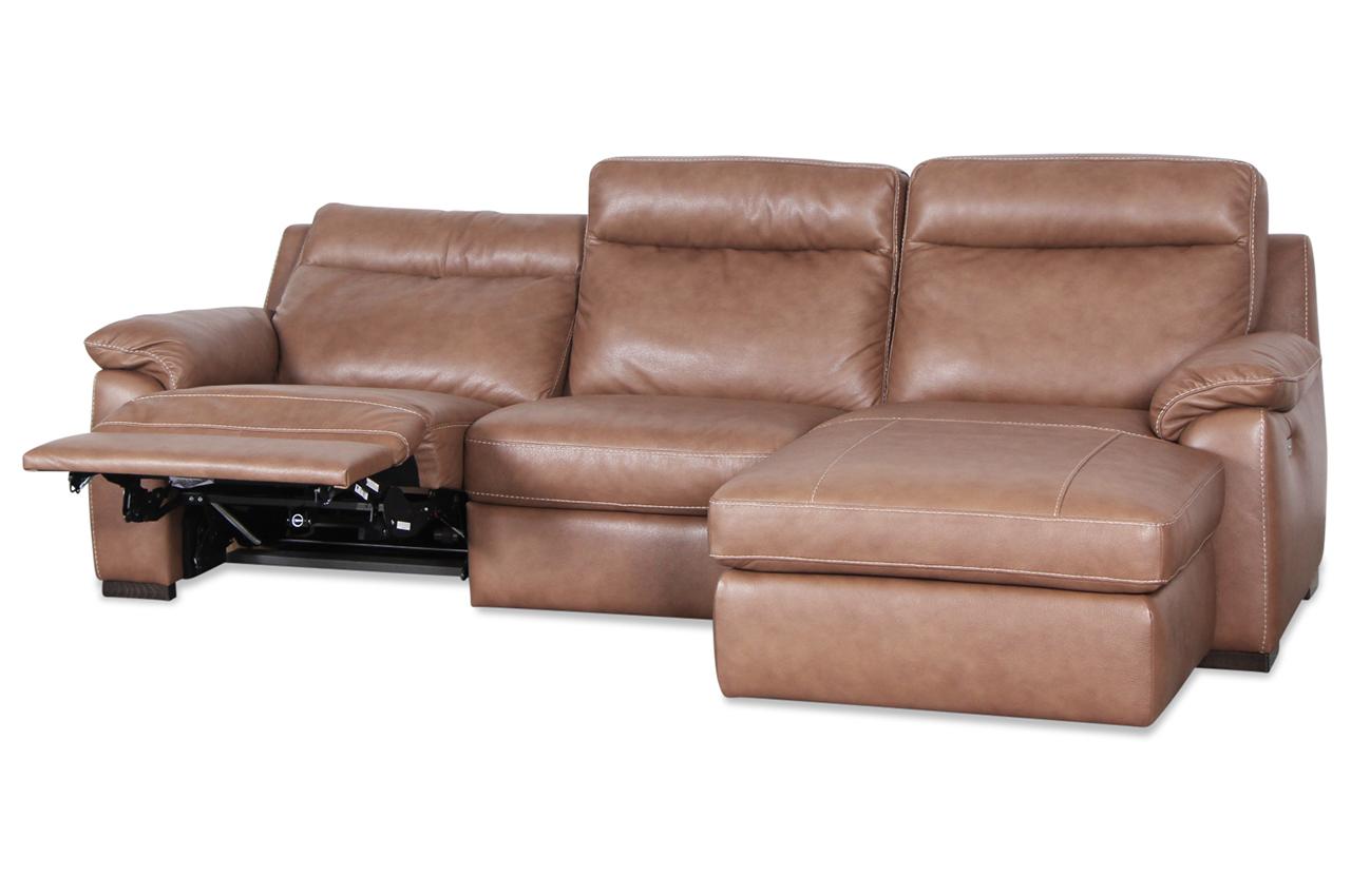editions leder ecksofa u210 mit relax braun mit. Black Bedroom Furniture Sets. Home Design Ideas