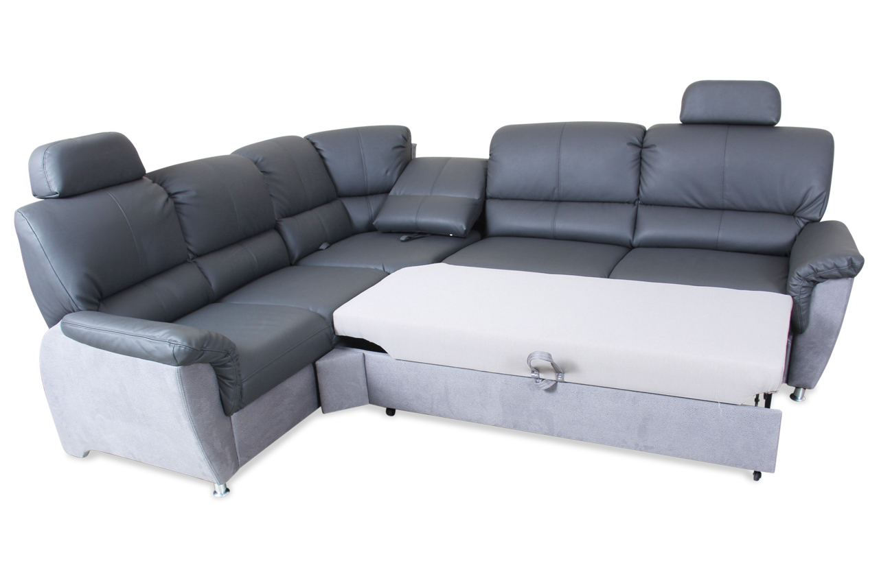 rundecke ibiza mit schlaffunktion grau sofas zum halben preis. Black Bedroom Furniture Sets. Home Design Ideas