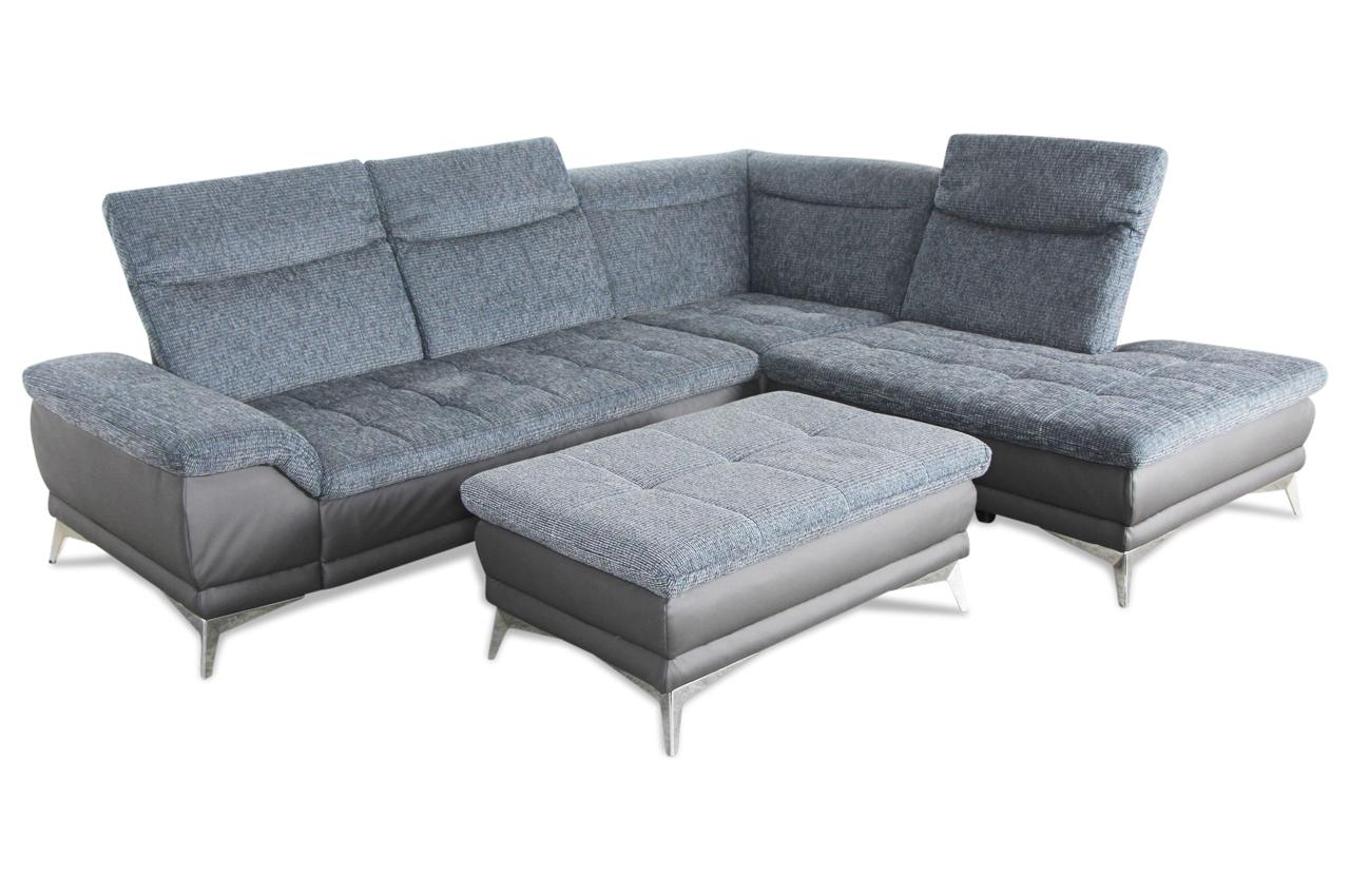 rundecke mit hocker grau sofas zum halben preis. Black Bedroom Furniture Sets. Home Design Ideas