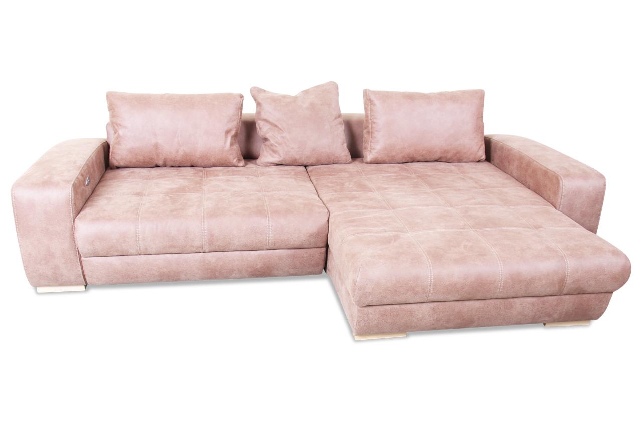 ecksofa mit motor braun sofas zum halben preis. Black Bedroom Furniture Sets. Home Design Ideas