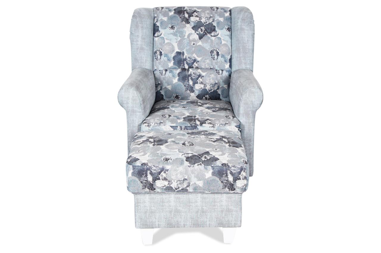 ohrenbackensessel blau interior design und m bel ideen. Black Bedroom Furniture Sets. Home Design Ideas