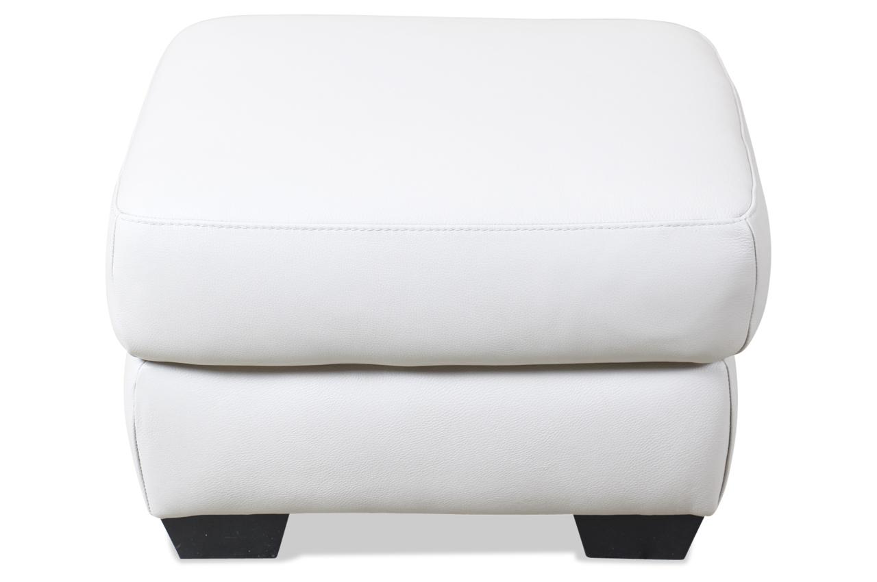 editions leder hocker 246 weiss sofas zum halben preis. Black Bedroom Furniture Sets. Home Design Ideas
