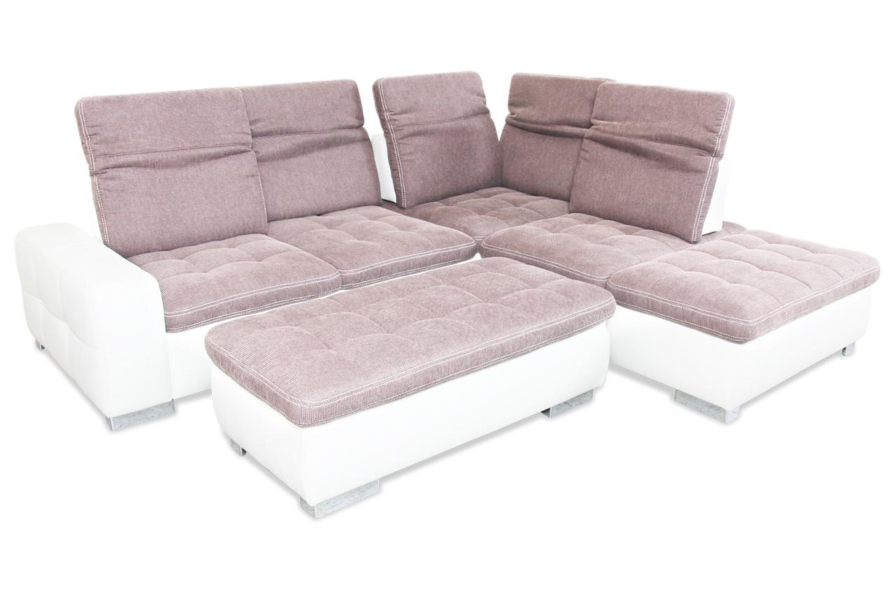 rundecke mit hocker mit relax braun sofas zum halben preis. Black Bedroom Furniture Sets. Home Design Ideas