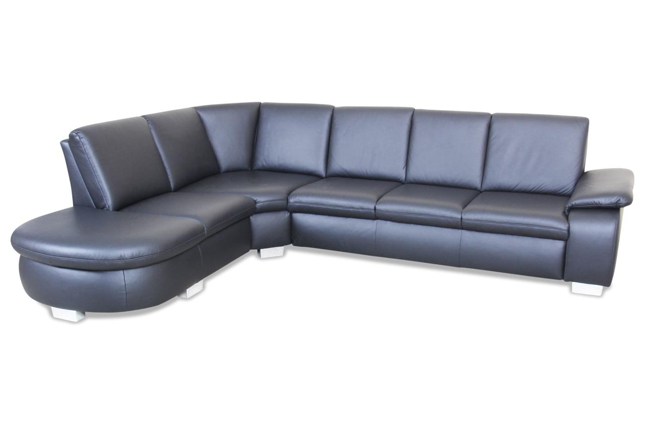 leder rundecke schwarz sofas zum halben preis. Black Bedroom Furniture Sets. Home Design Ideas