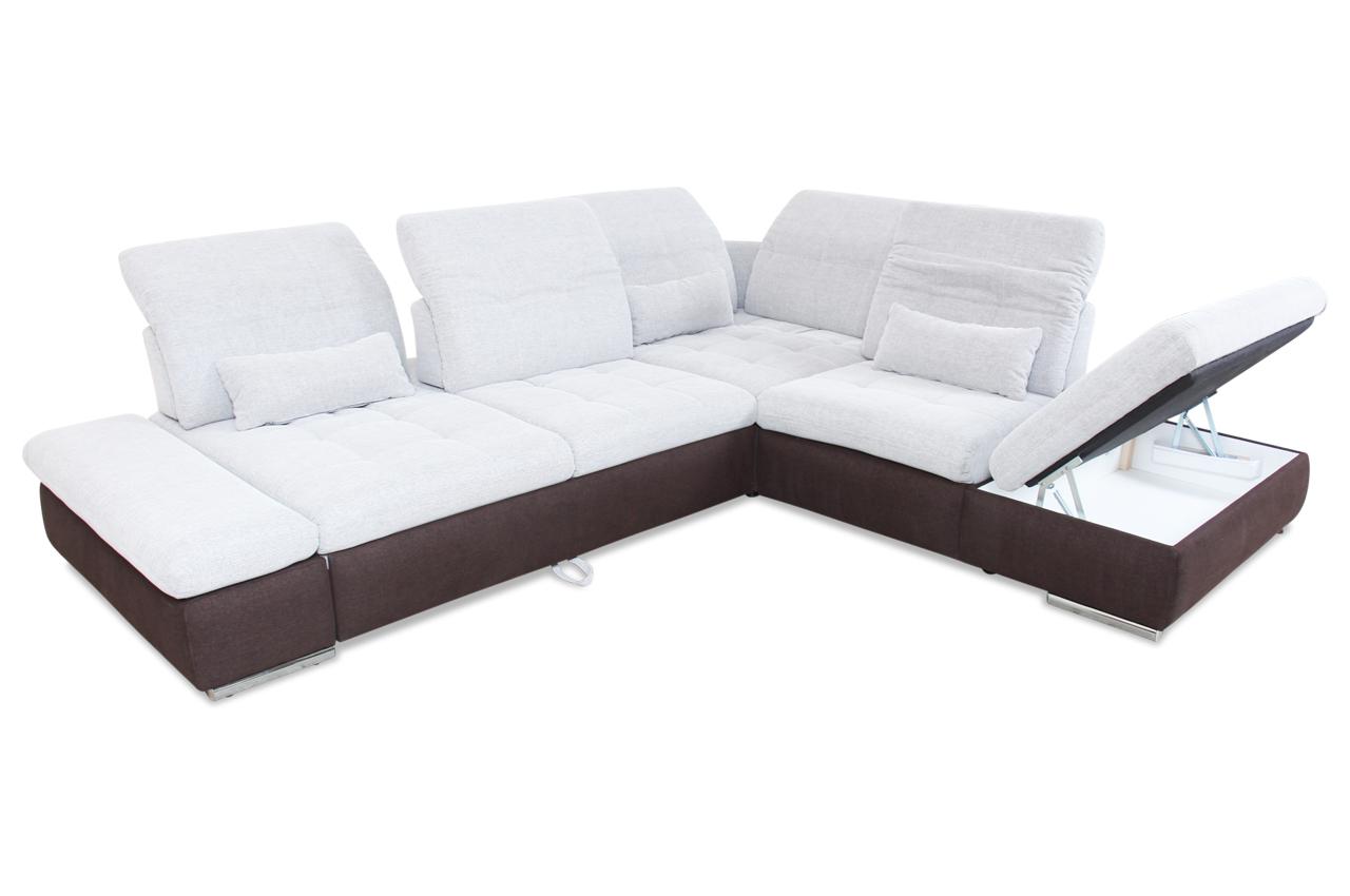 rundecke mit schlaffunktion grau sofas zum halben preis. Black Bedroom Furniture Sets. Home Design Ideas